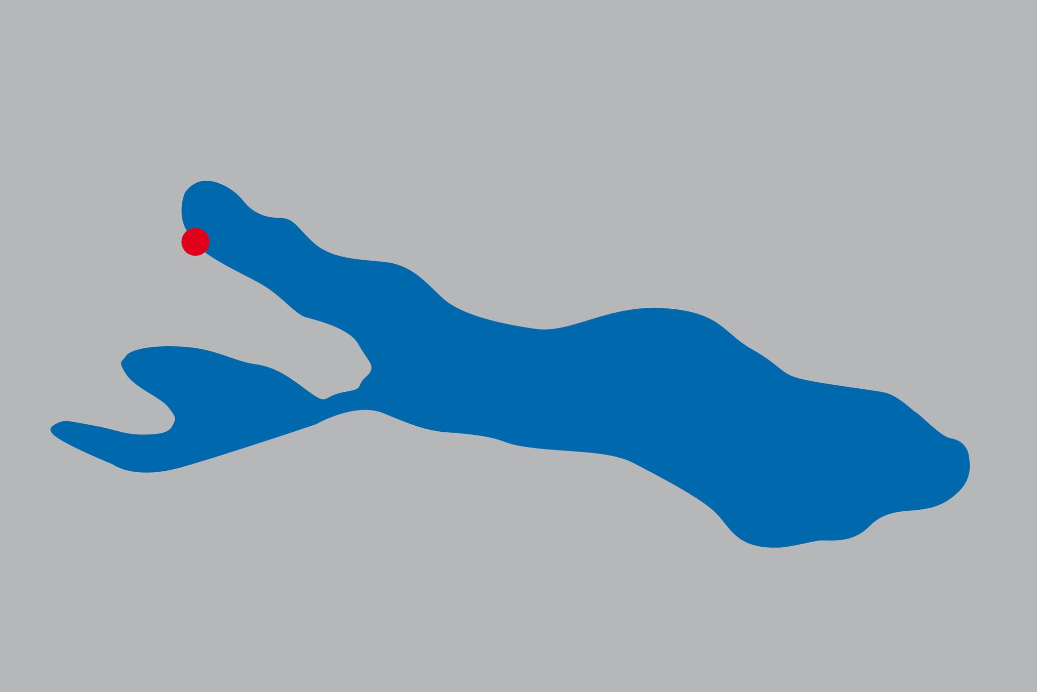 Lage Bodmans am Überlinger See