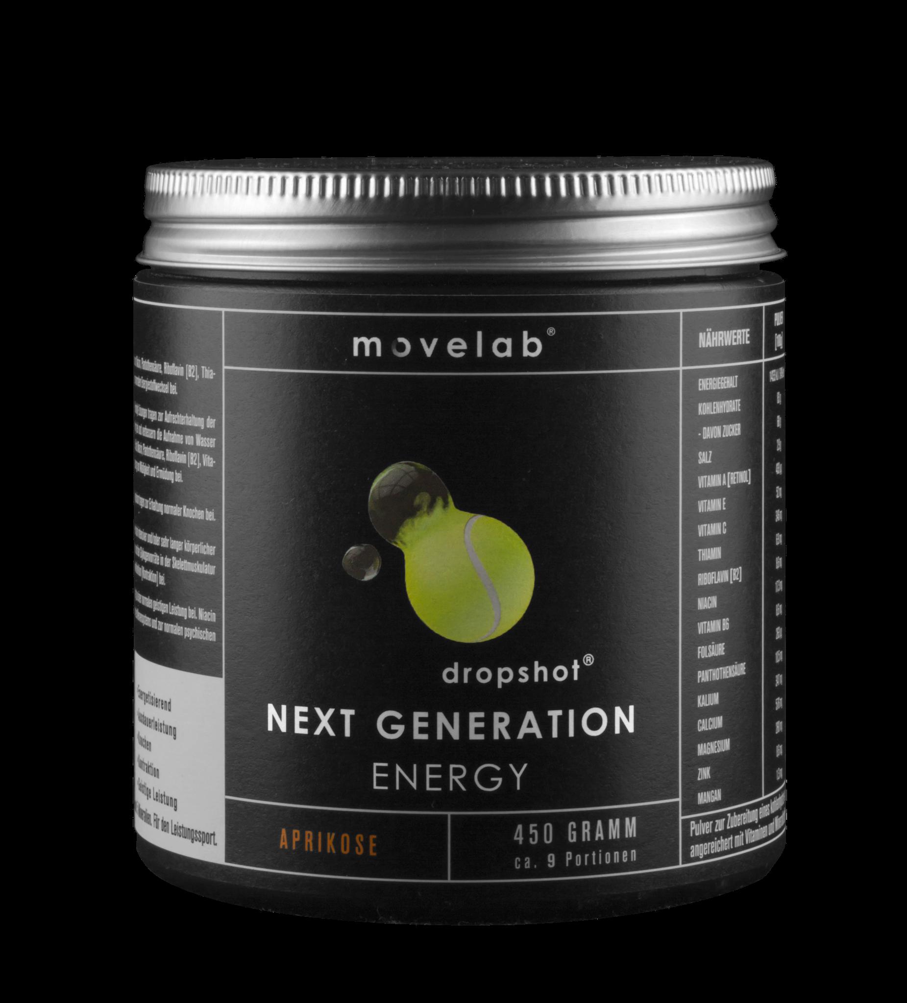 dropshot® NEXT GENERATION Hypotonic Energy