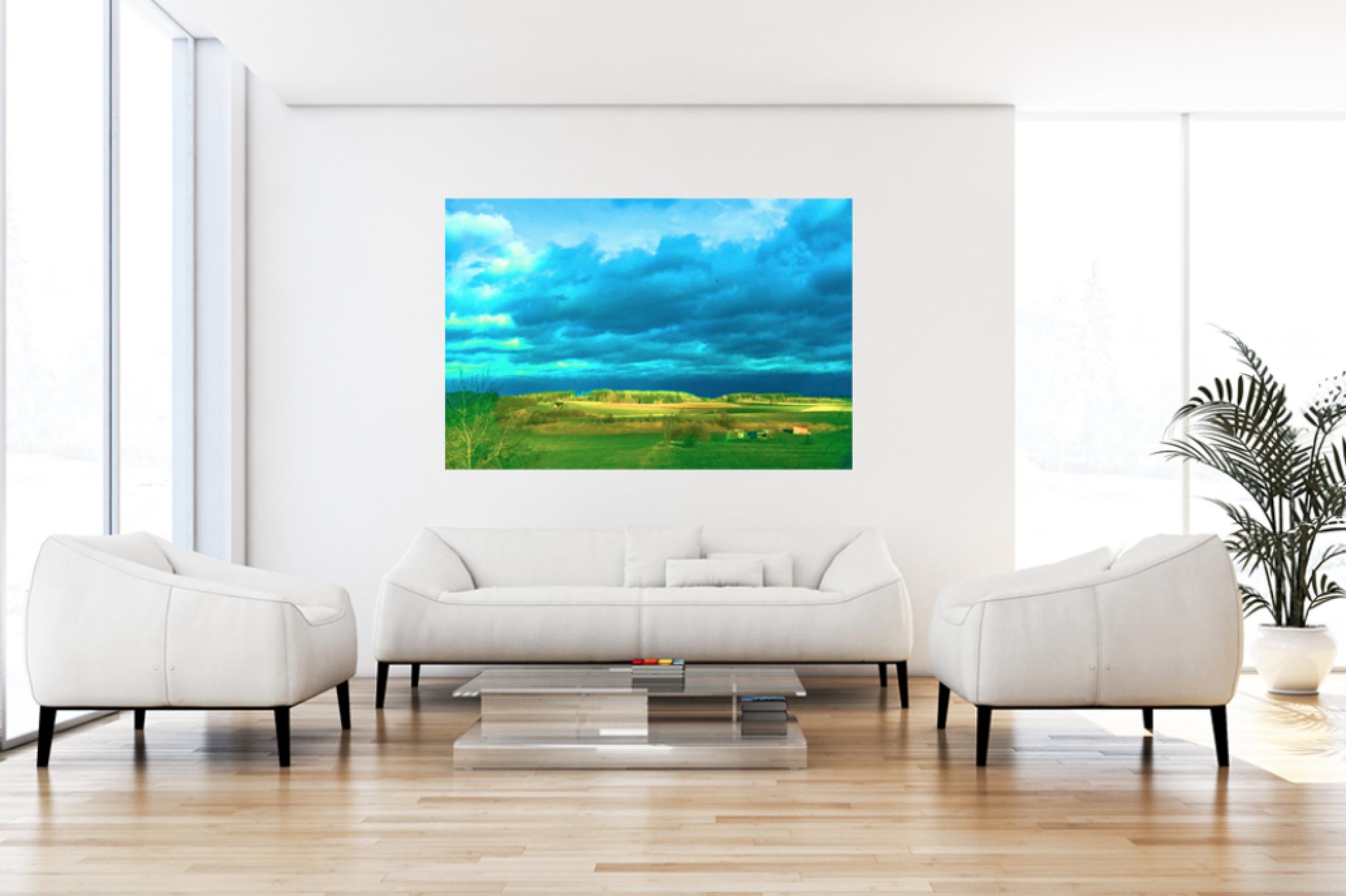 """Leinwandbild Pop Art """"Wolkenlicht"""""""