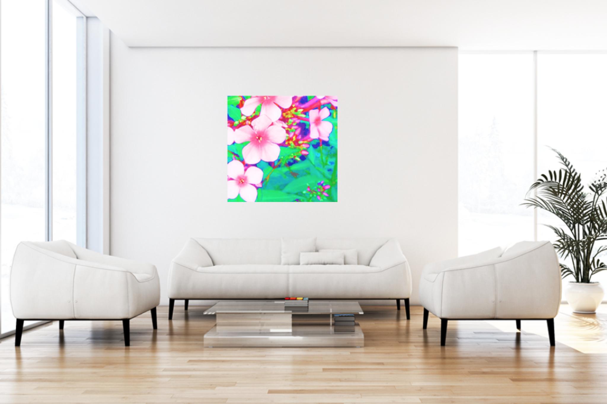 "Leinwandbild Pop Art ""Rosa Traum2"""