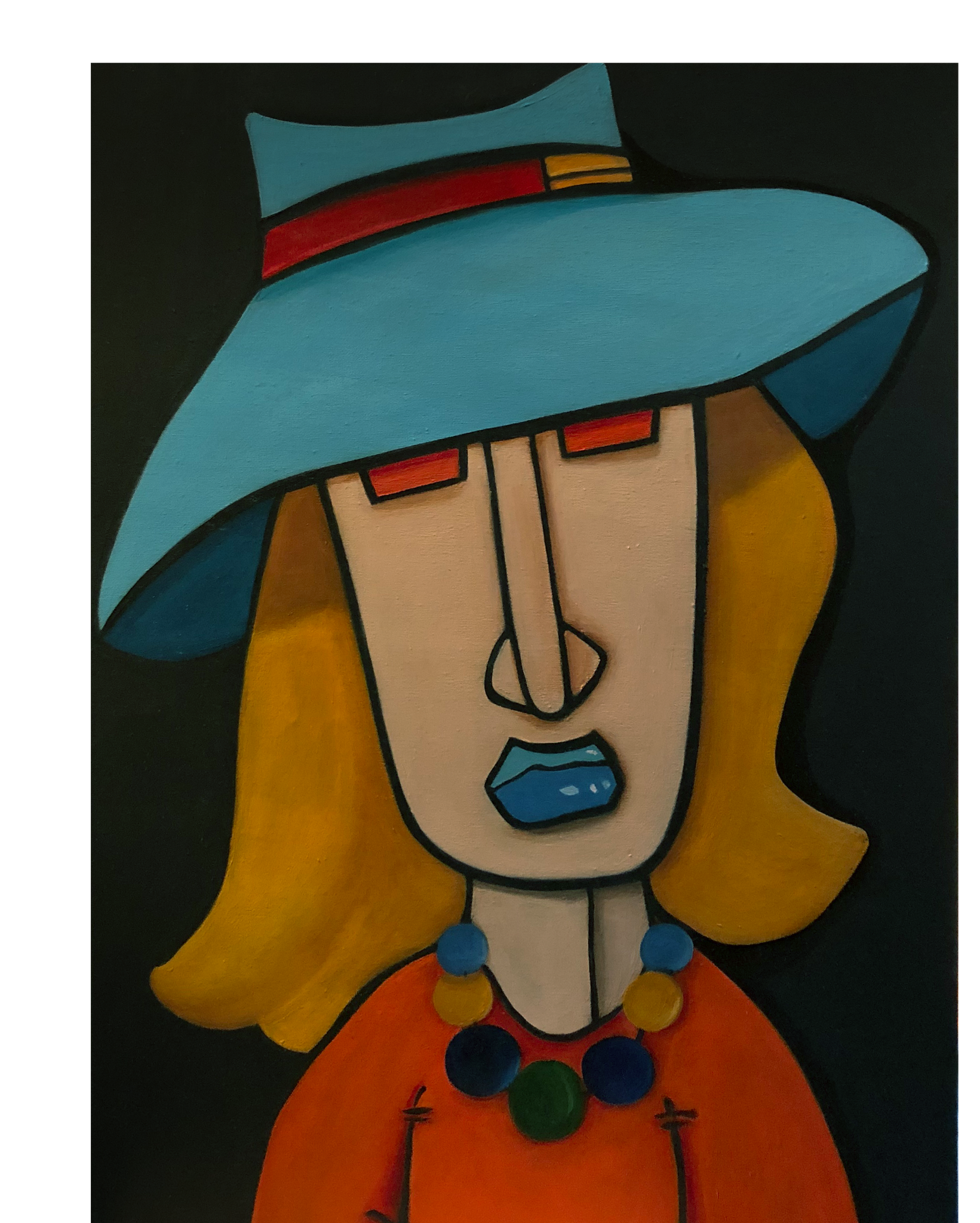 WOMAN WITH HAT II