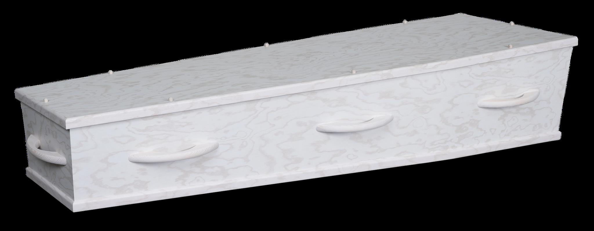 1-60 HC8 Wit, lichtgewicht ecoboard, bekleding strak ongebleekt katoen