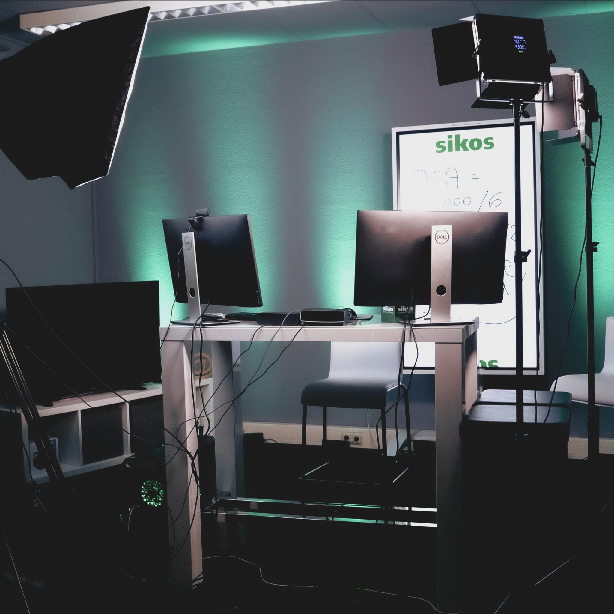 Virtuelles Aufnahme-Studio der sikos GmbH