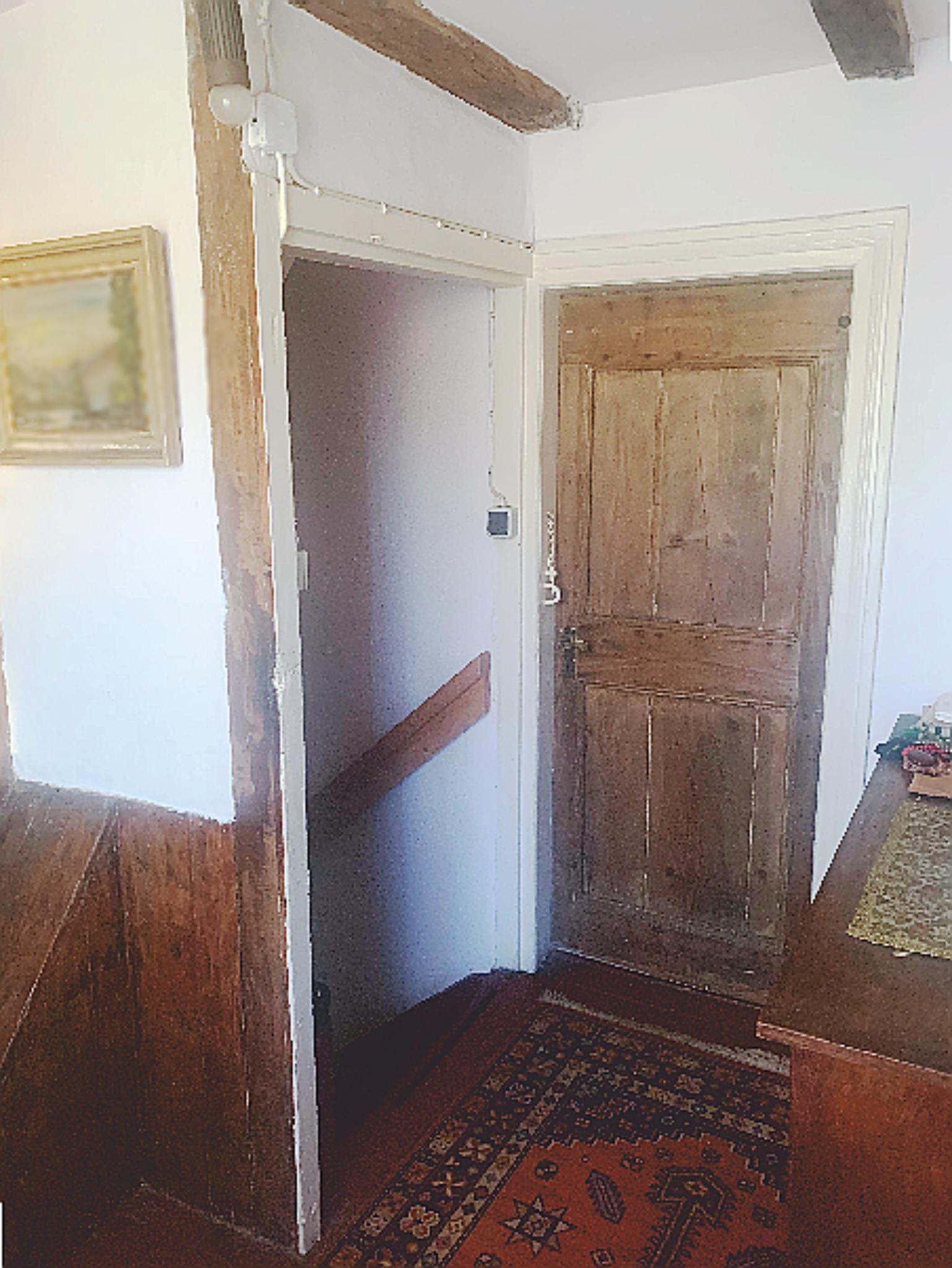 Im Obergeschoss des Schwarzen Hauses - Der Trakt aus dem XVIII Jahrhundert
