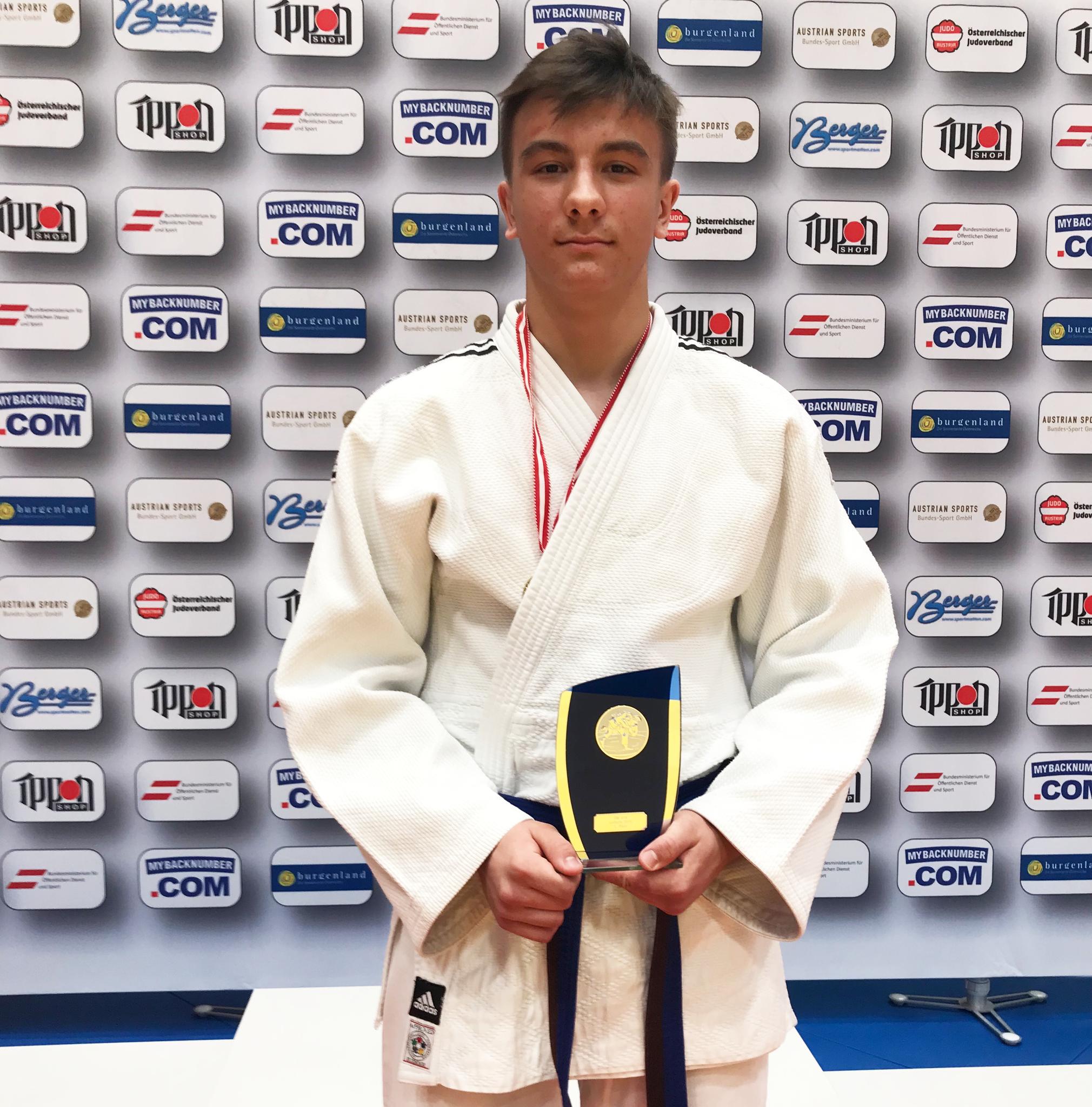 Österreichischer Judo Meister U16 - Julian Riedinger