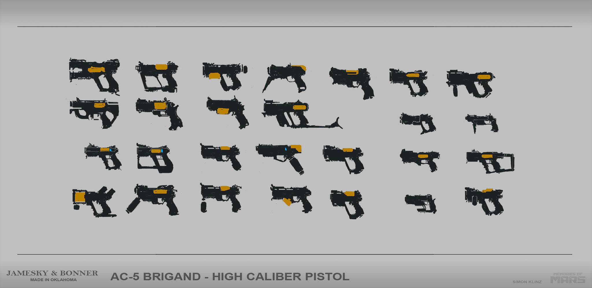 One handed shotgun pistol concepts.