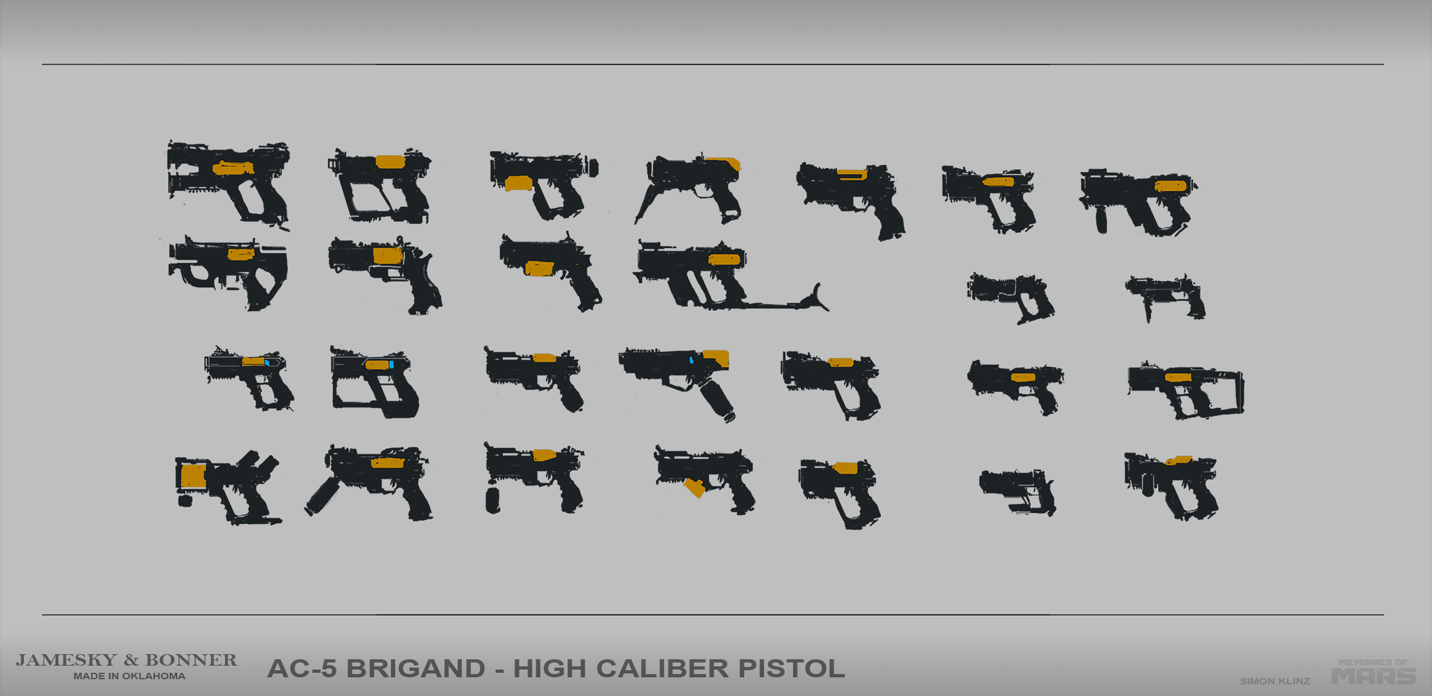 One handed shotgun pistol concepts.