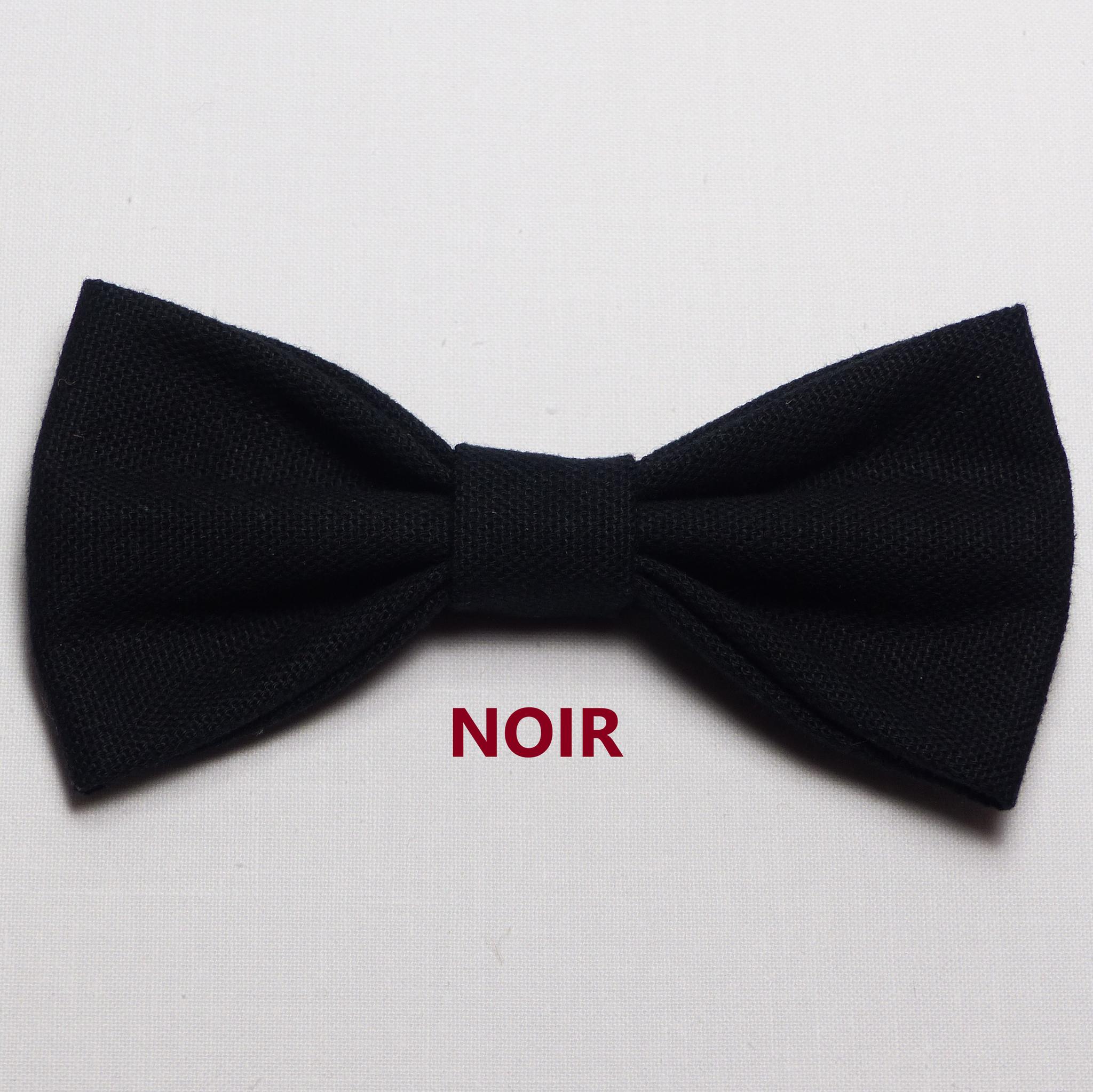Noeud Papillon Mariage Noir