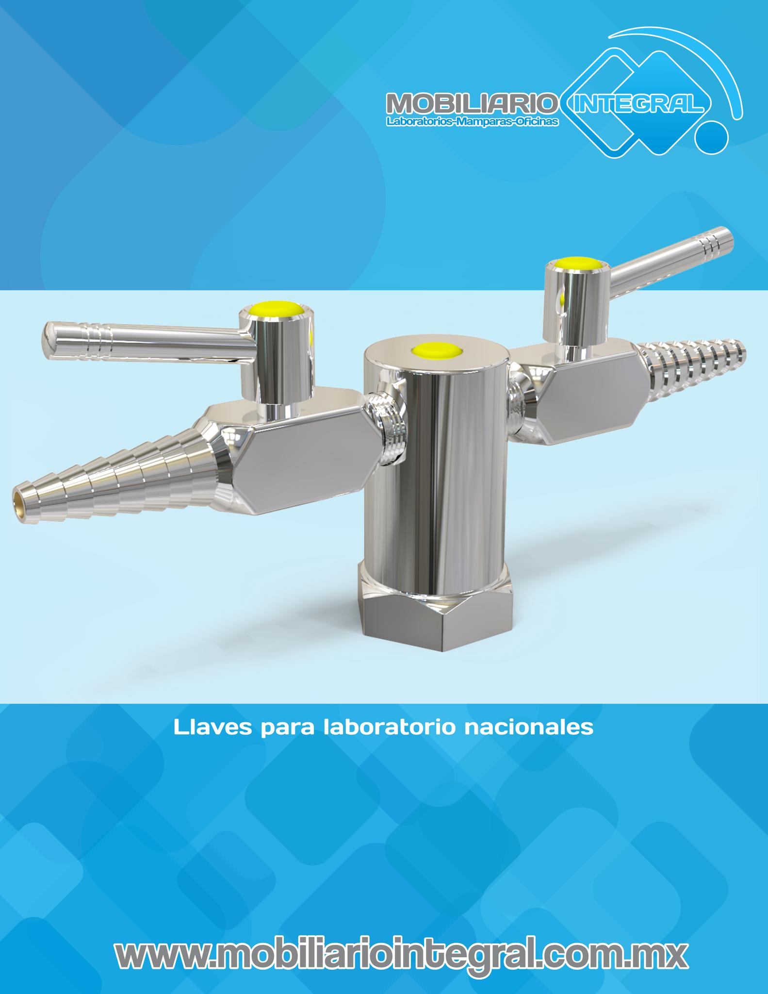 Llaves para laboratorio en Puebla