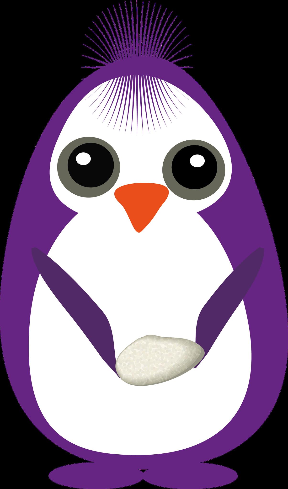pingui violeta