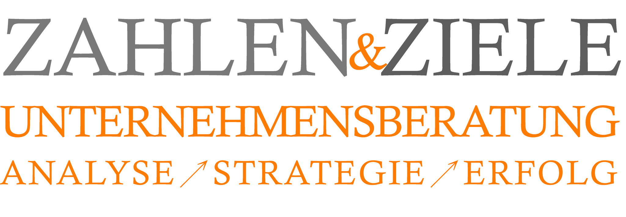 Logo für eine Unternehmensberaterin, dazu Konzeption neue Homepage