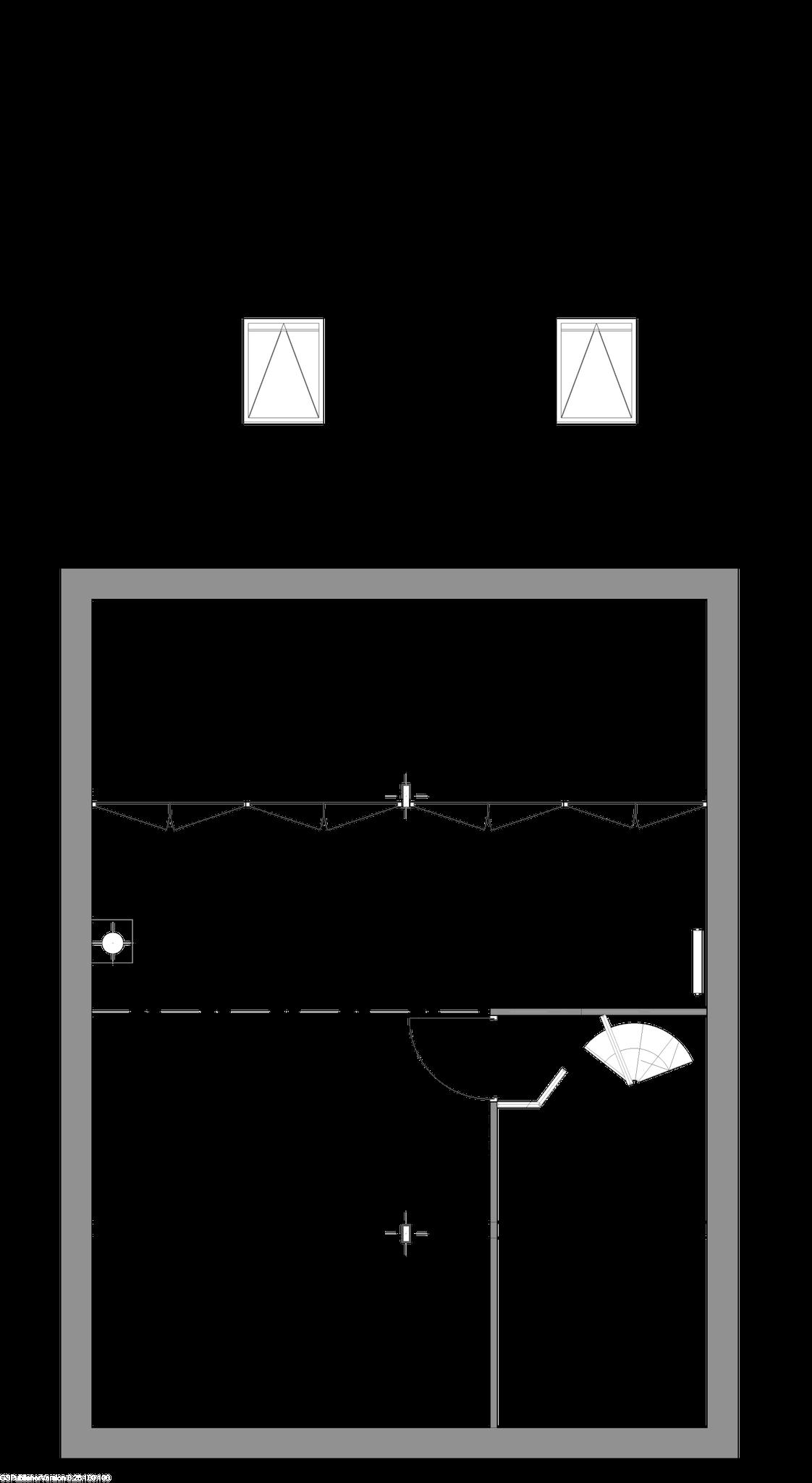 Plan de deuxième étage