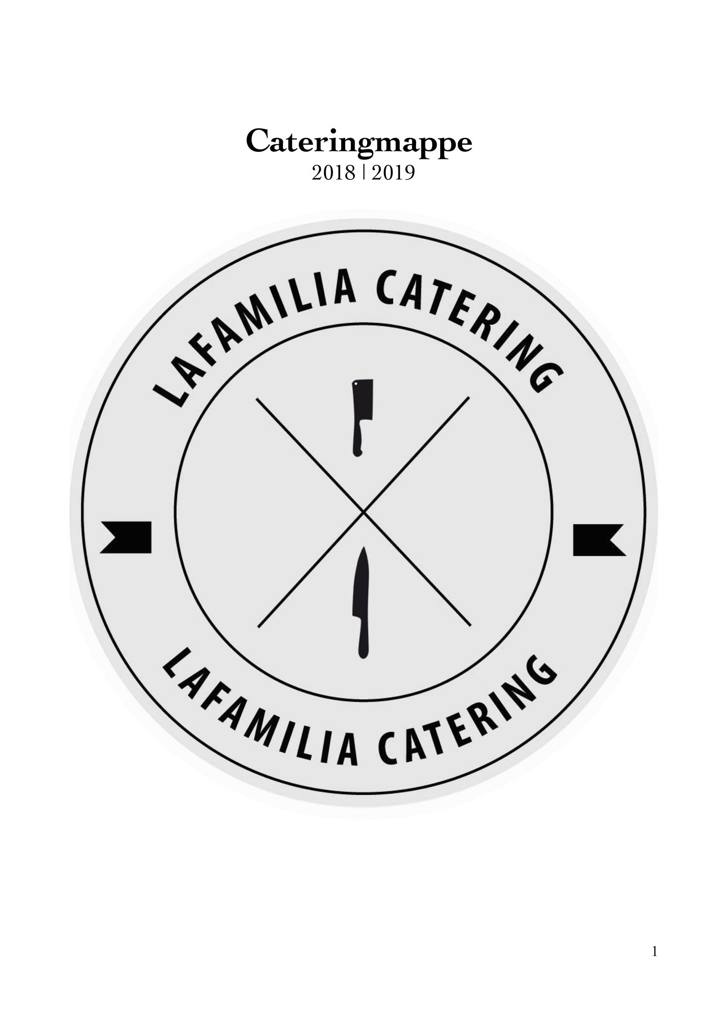 Cateringmappe Lafamilia Catering