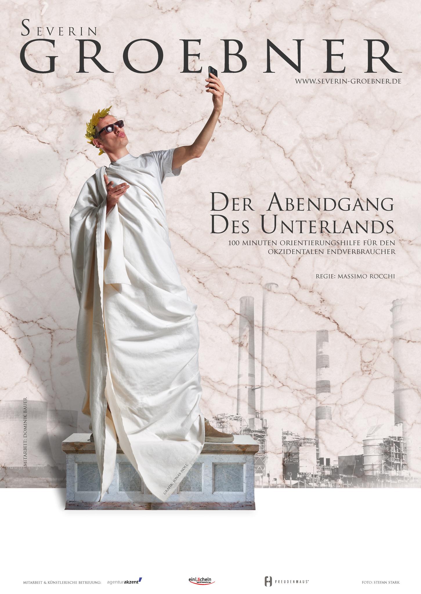 Plakat Kabarettprogramm Severin Groebner 2017