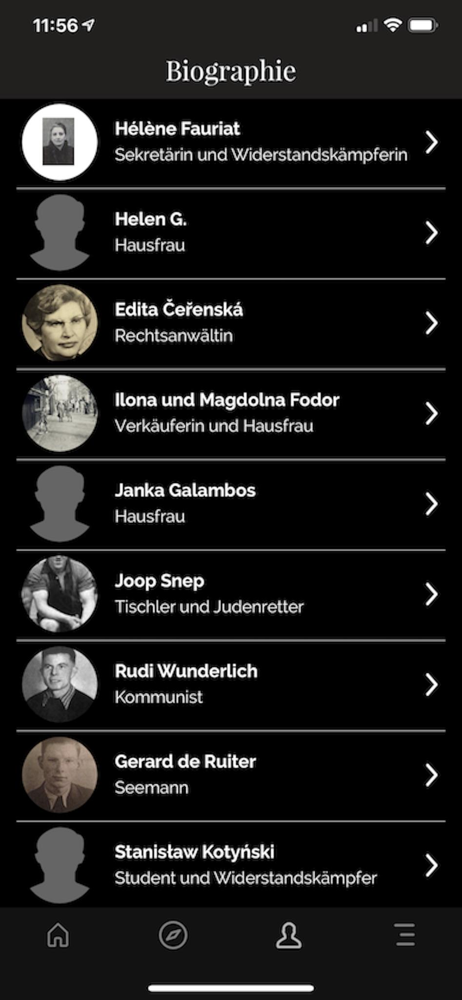 Satellite Camps - App - Die Außenlager des KZ Sachsenhausen in Berlin