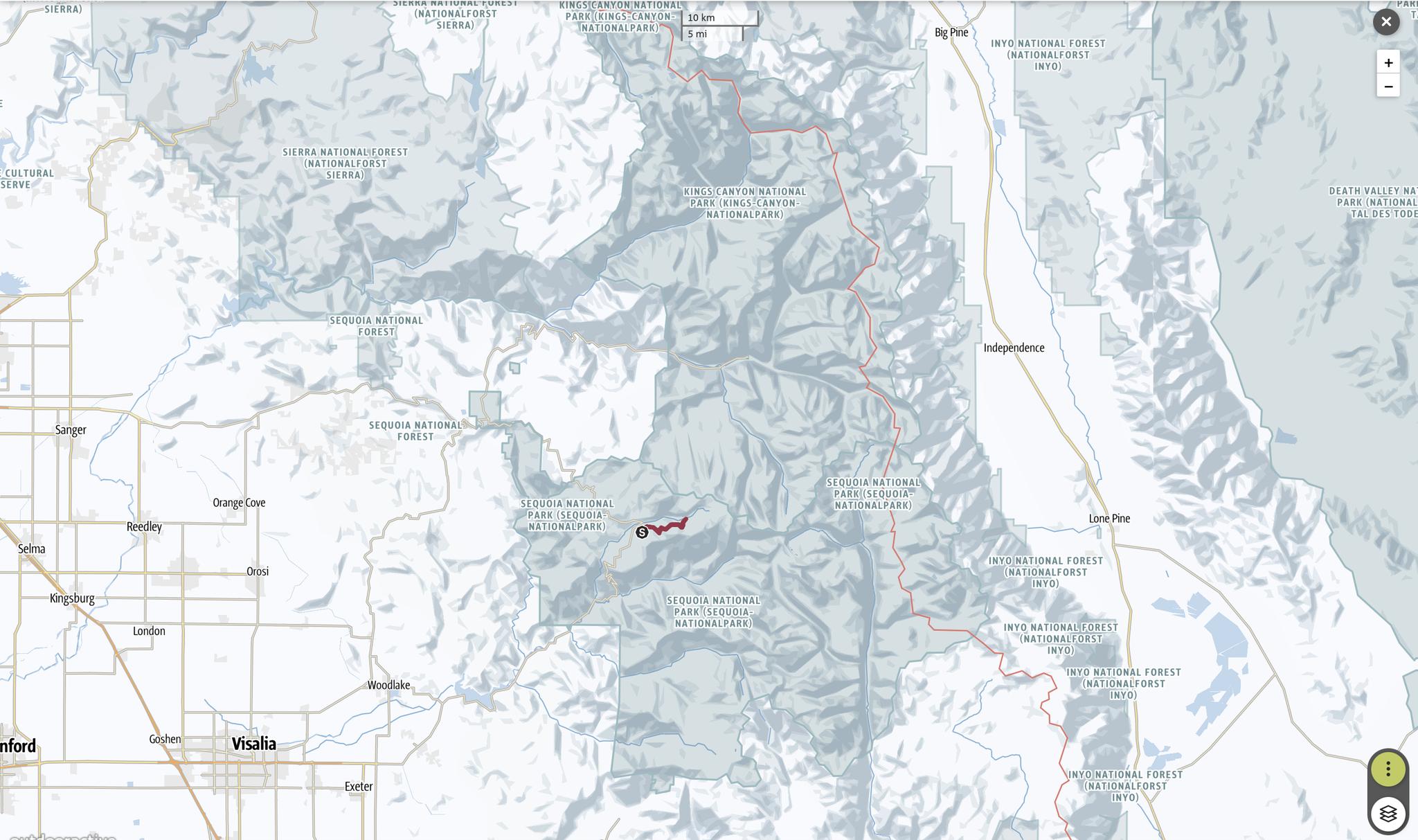 Sequoia - Pear Lake Ski Hut