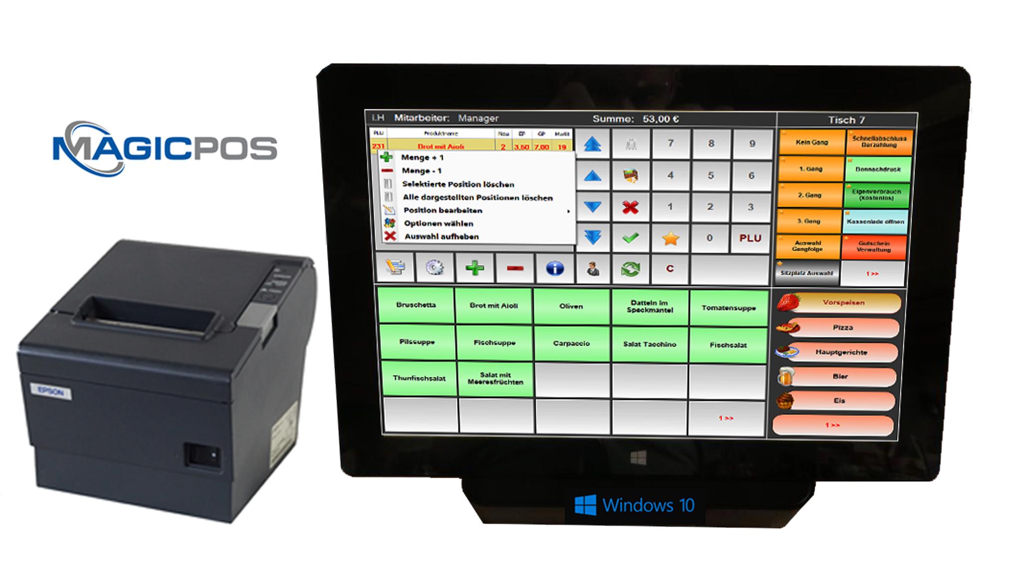 MagicPOS Kassensystem