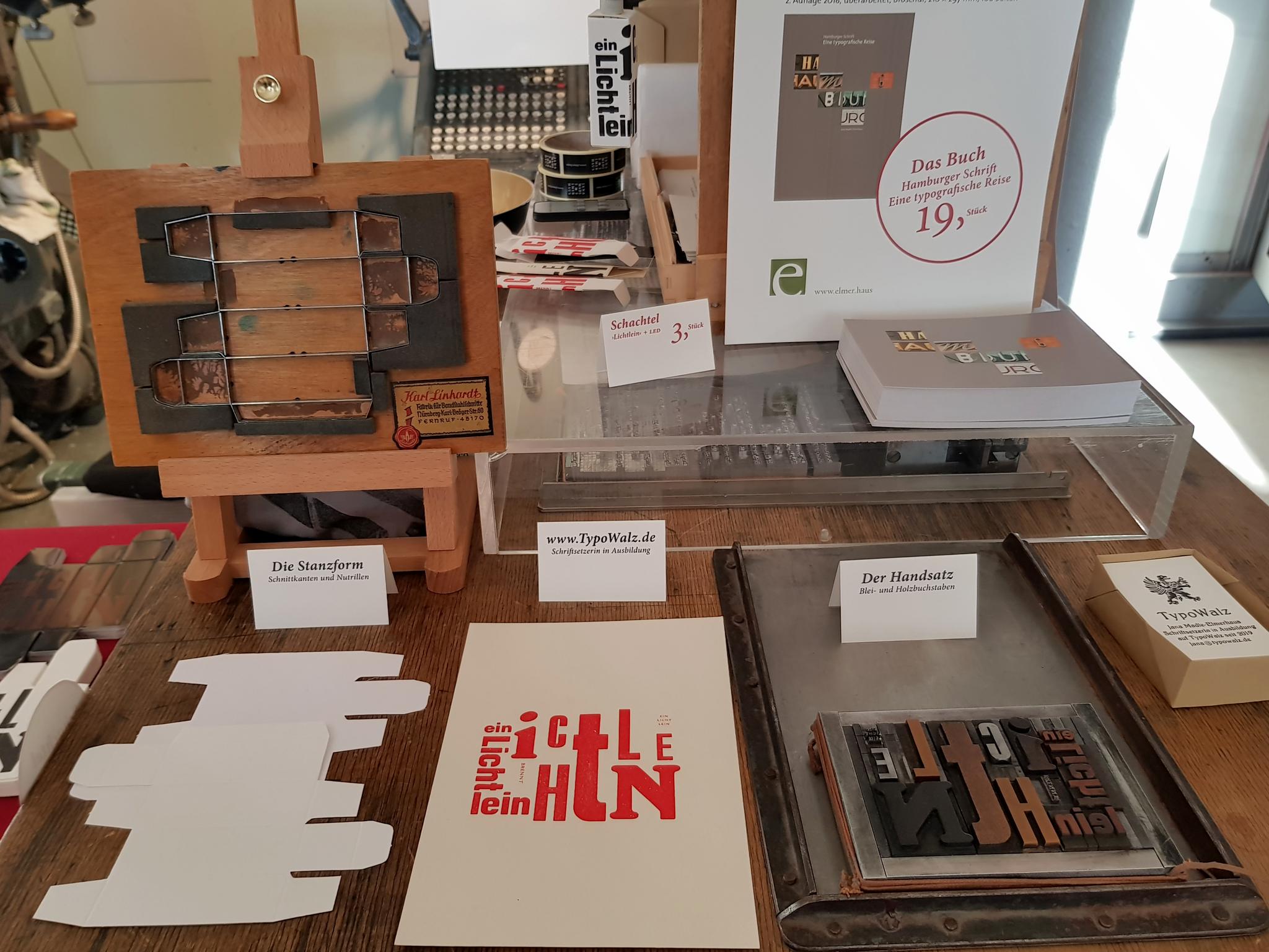 ausgestellten Arbeiten der TypoWalz ist unser ...