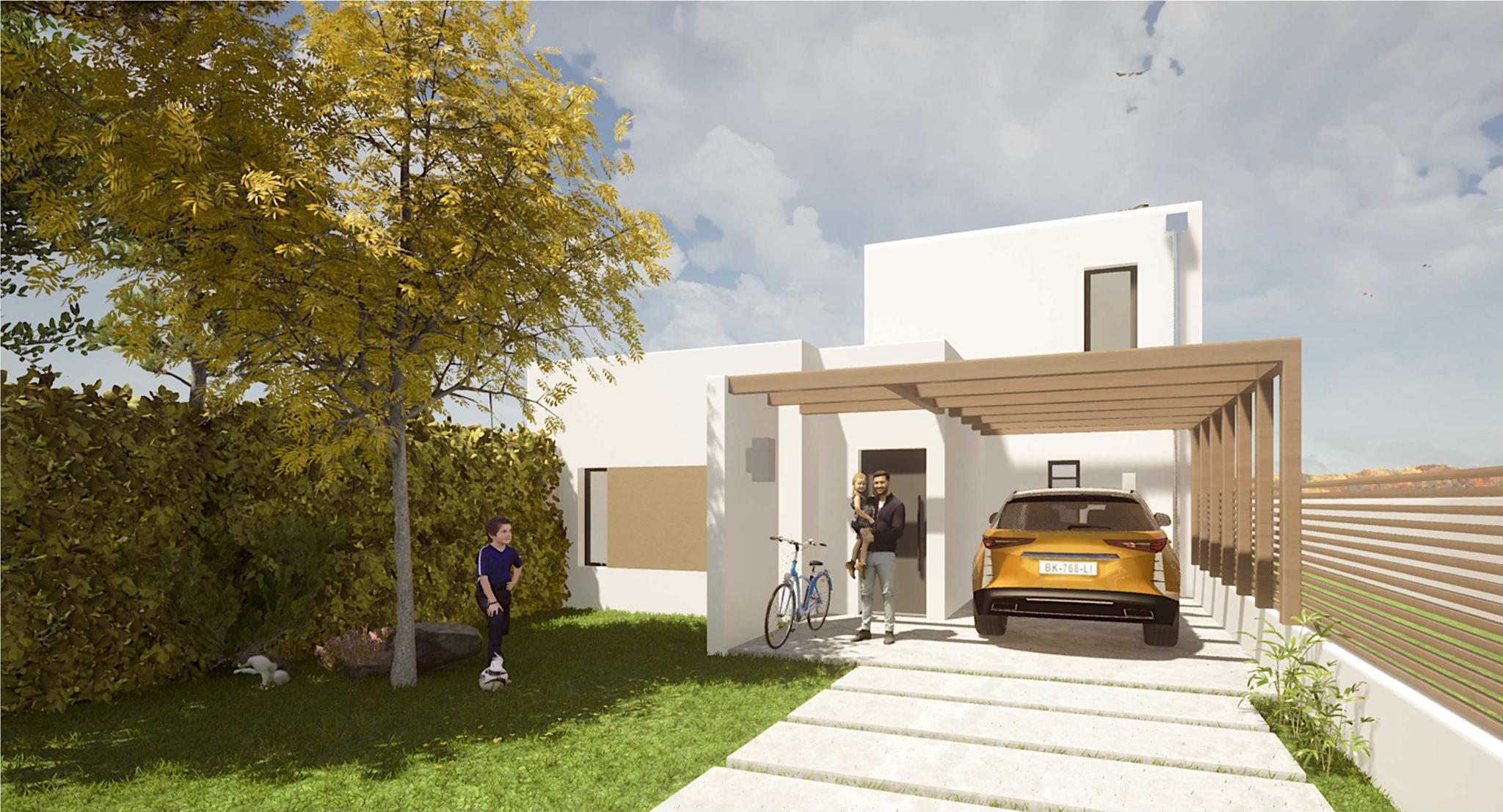 Maison contemporaine à Saint-Palais-Sur-Mer