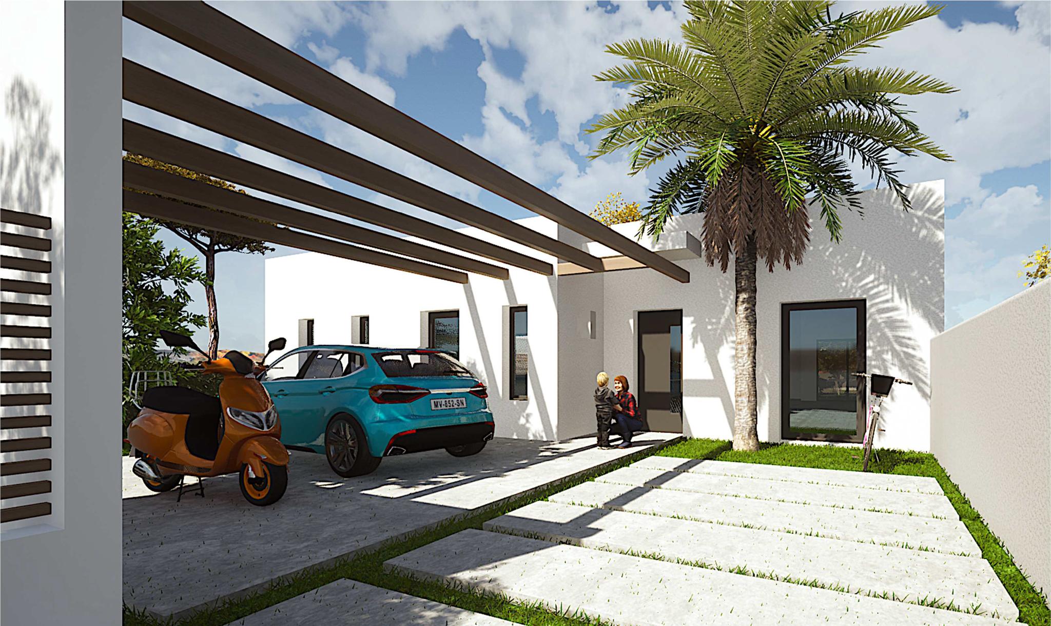 Maison contemporaine de Plain-pied à Saint-Palais-Sur-Mer