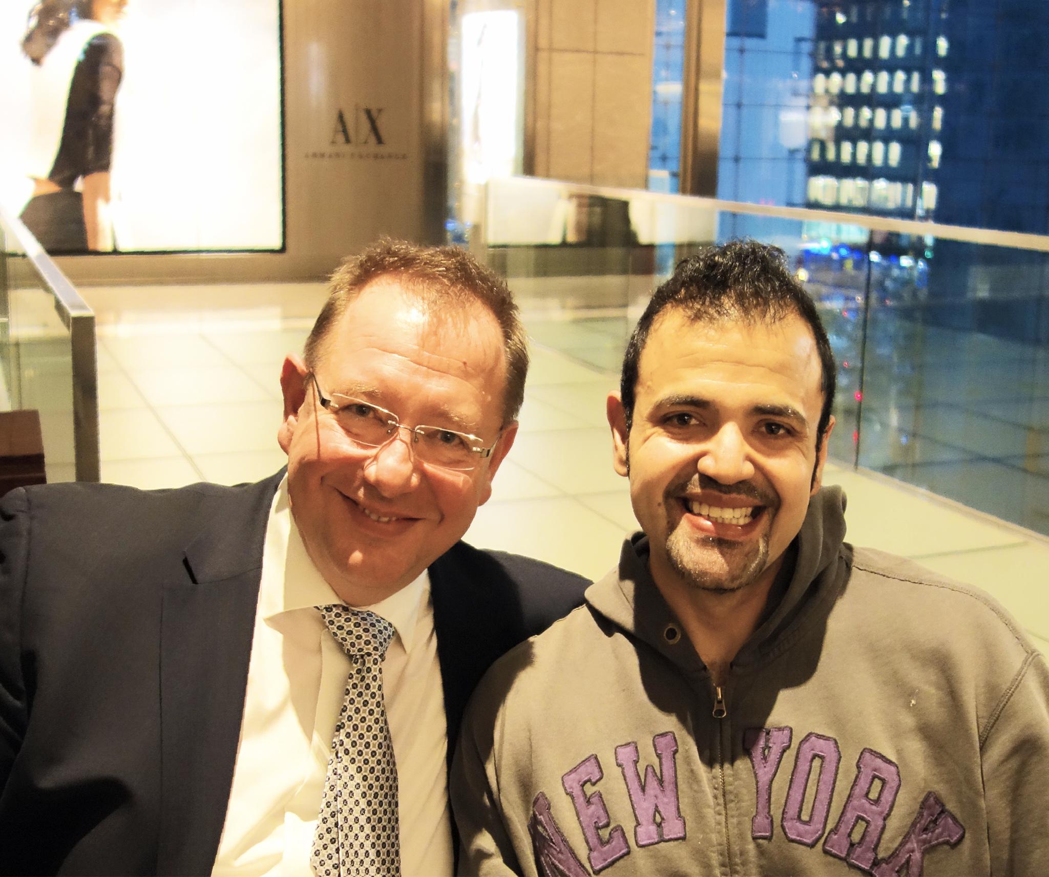 The Metropolian Opera, New York. Treffen mit Tenor und Freund Hugo Vera.