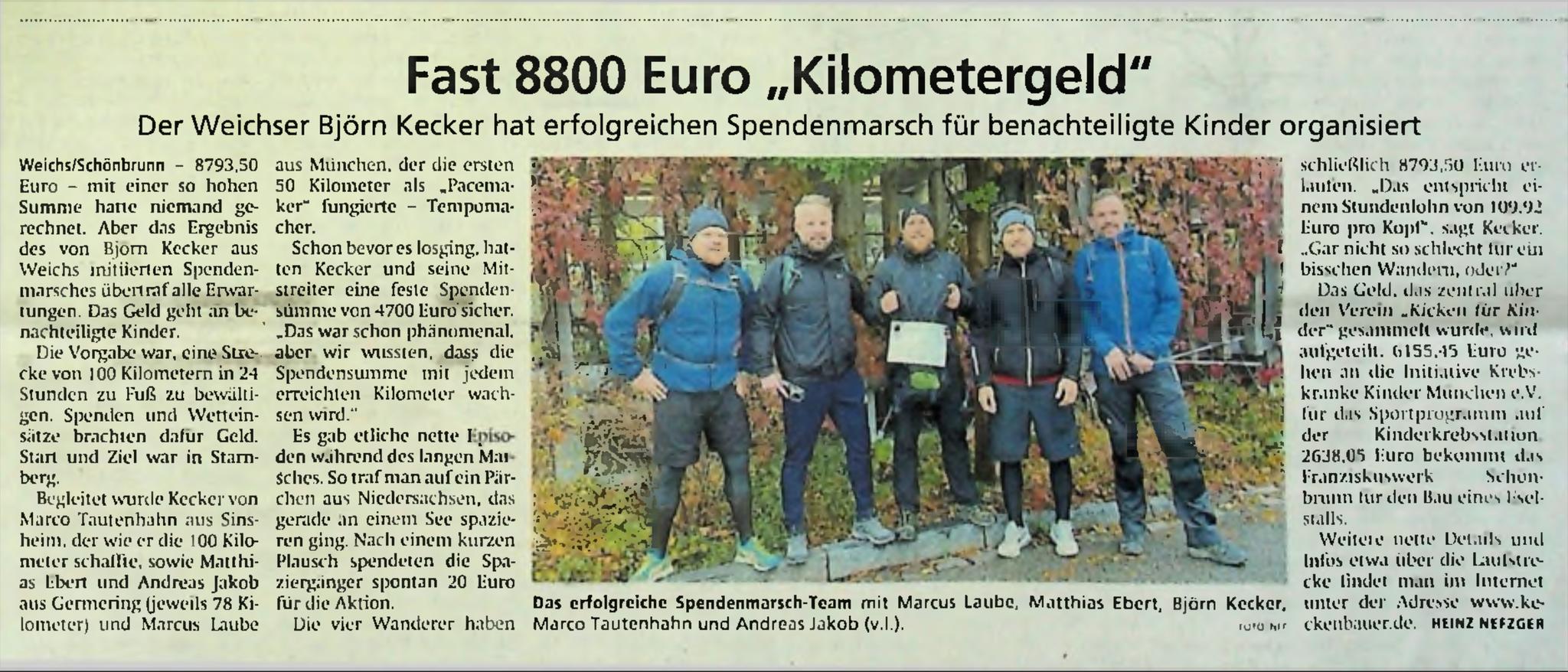 Dachauer Nachrichten / Münchener Merkur vom 26.11.2020