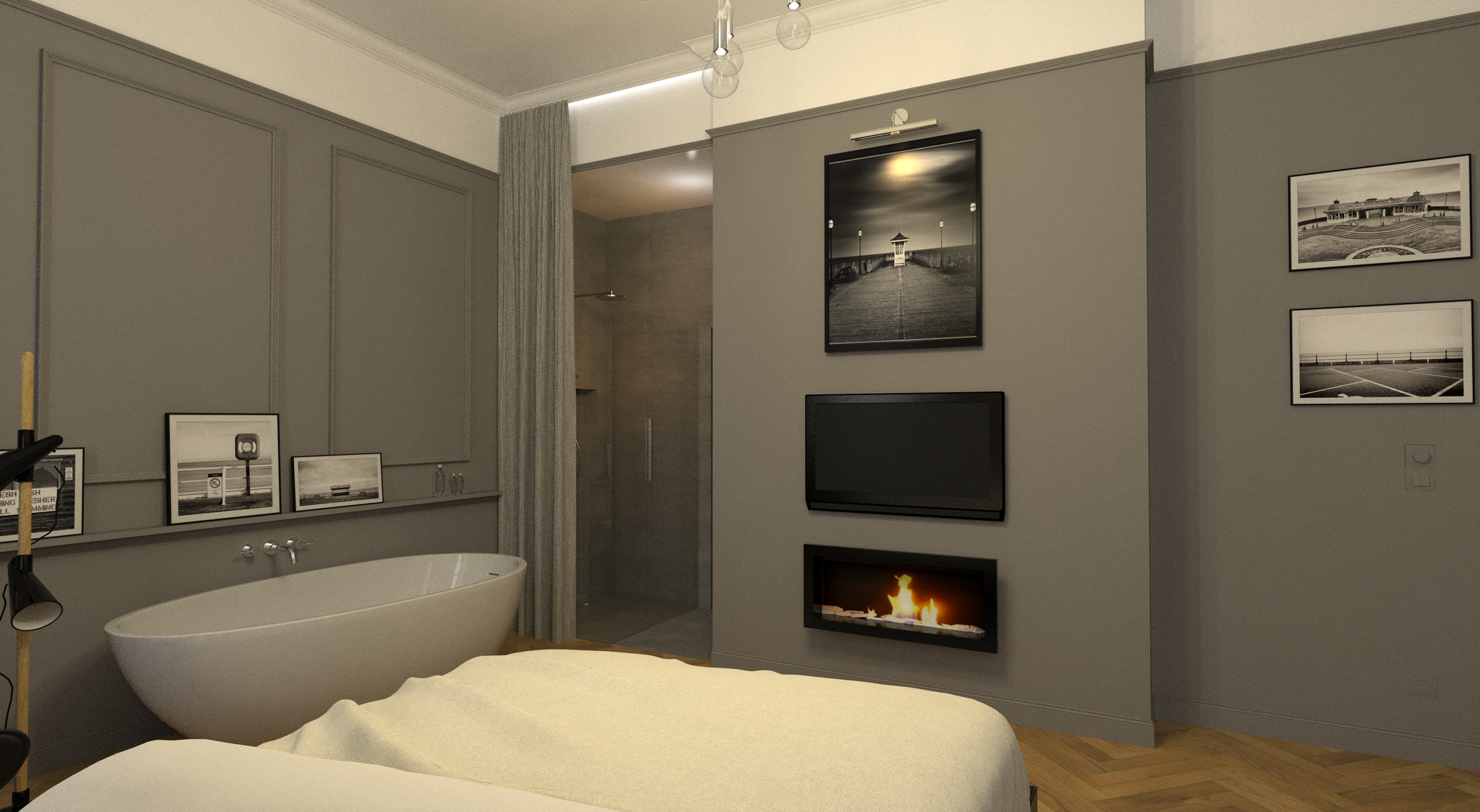 Umbau Altbauwohnung Belgiergasse Graz | Schlafzimmer