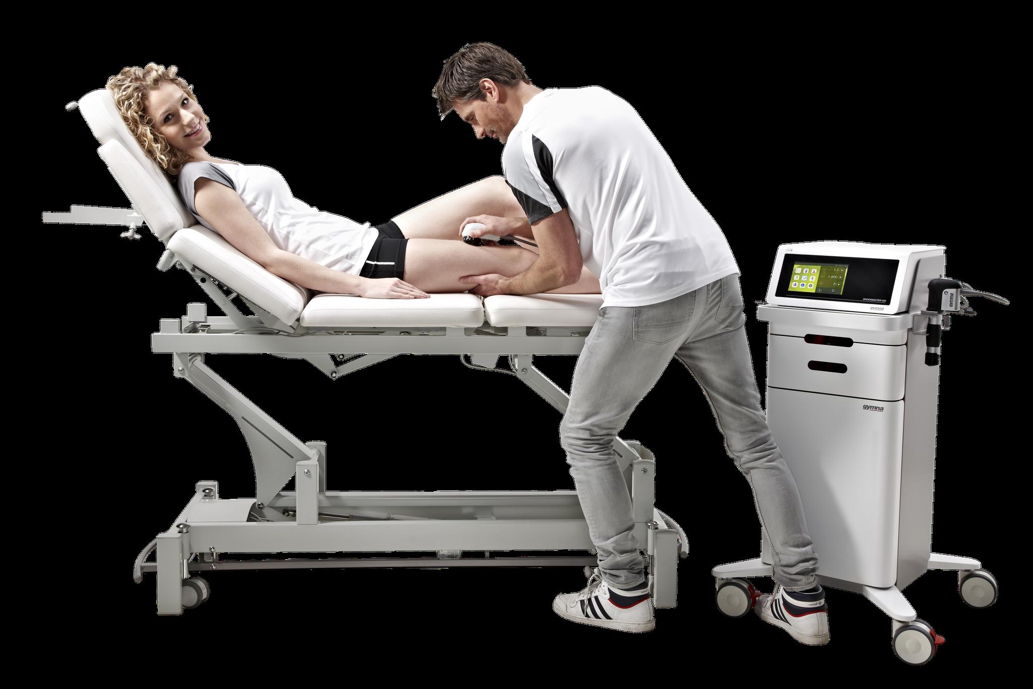 Die Stoßwellentherapiegeräte von Gymna