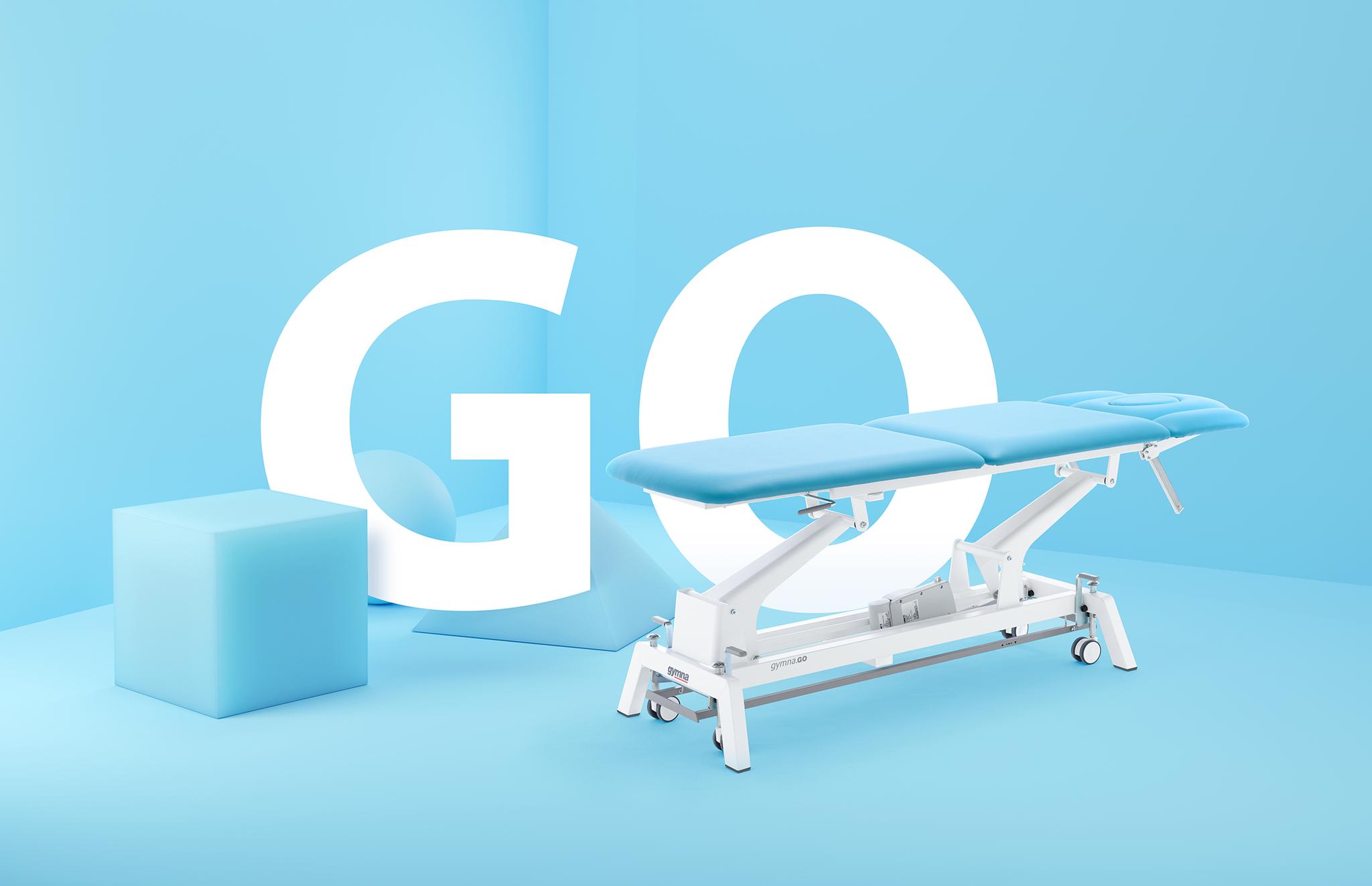 Die gymna.GO T5x - maximale Funktionalität für Ihre Behandlung