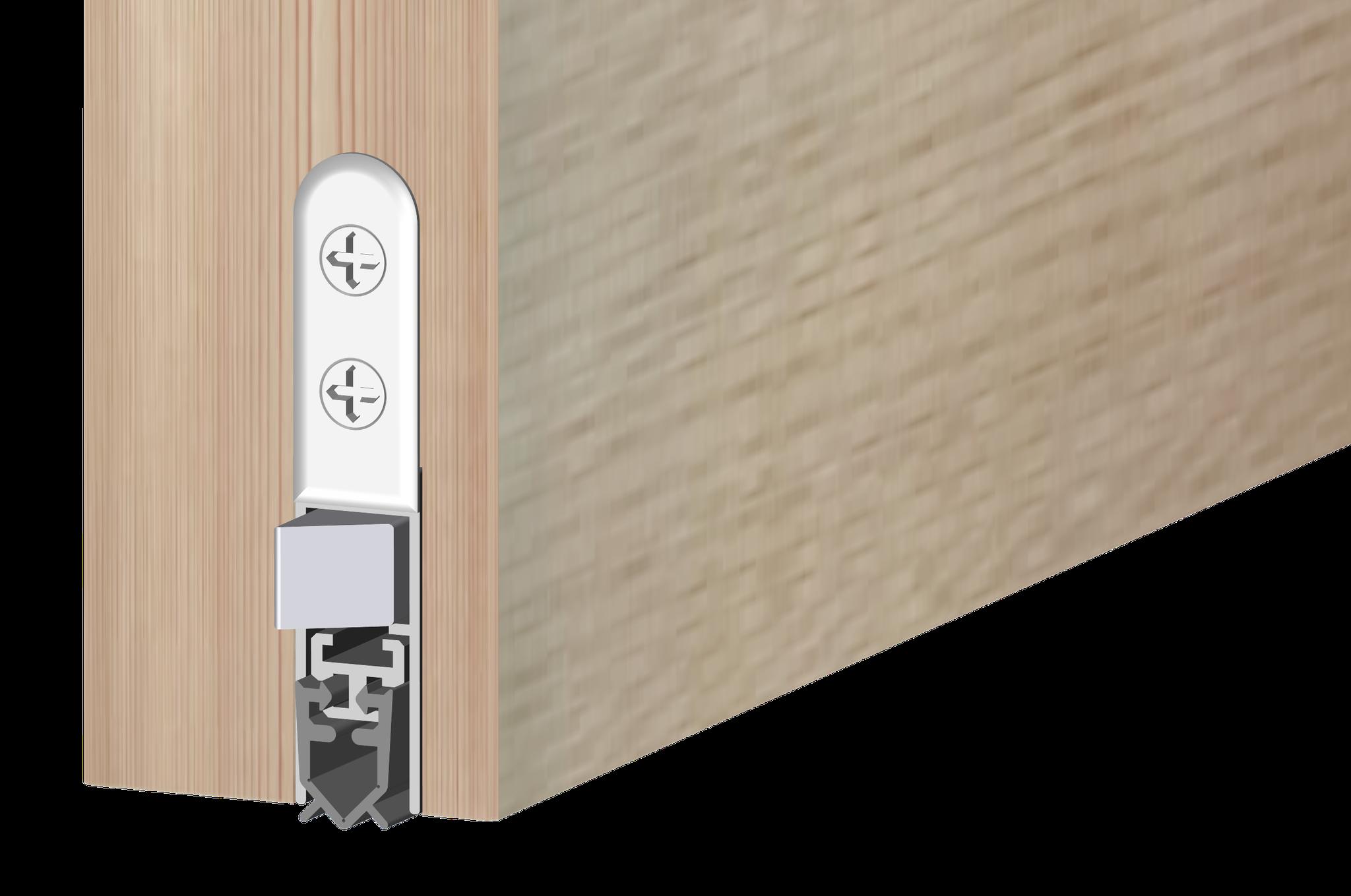Luft- und schalldichte Türen