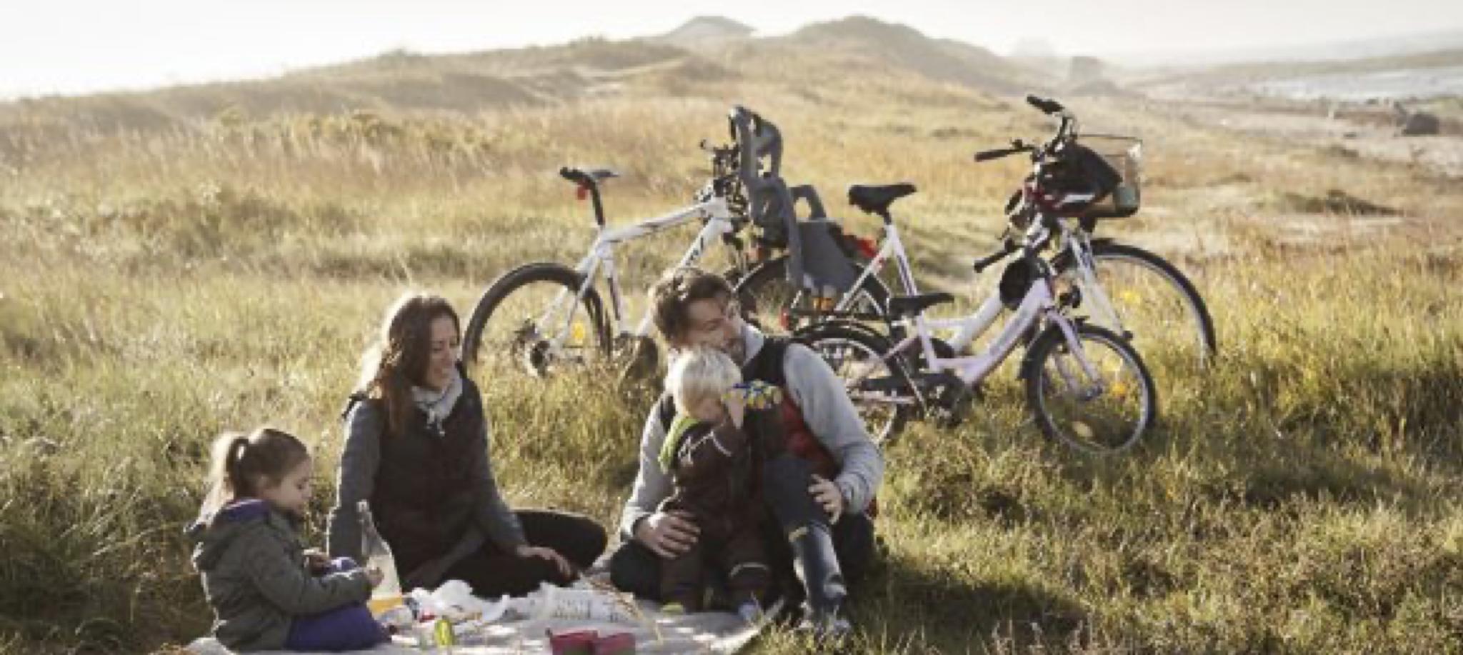 Radtouren durch den Nationalpark.