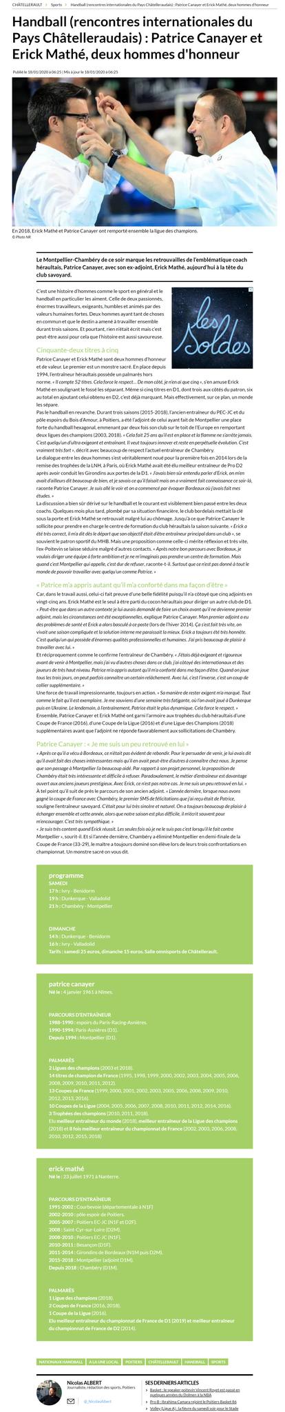 La Nouvelle République, article du 18 janvier 2020