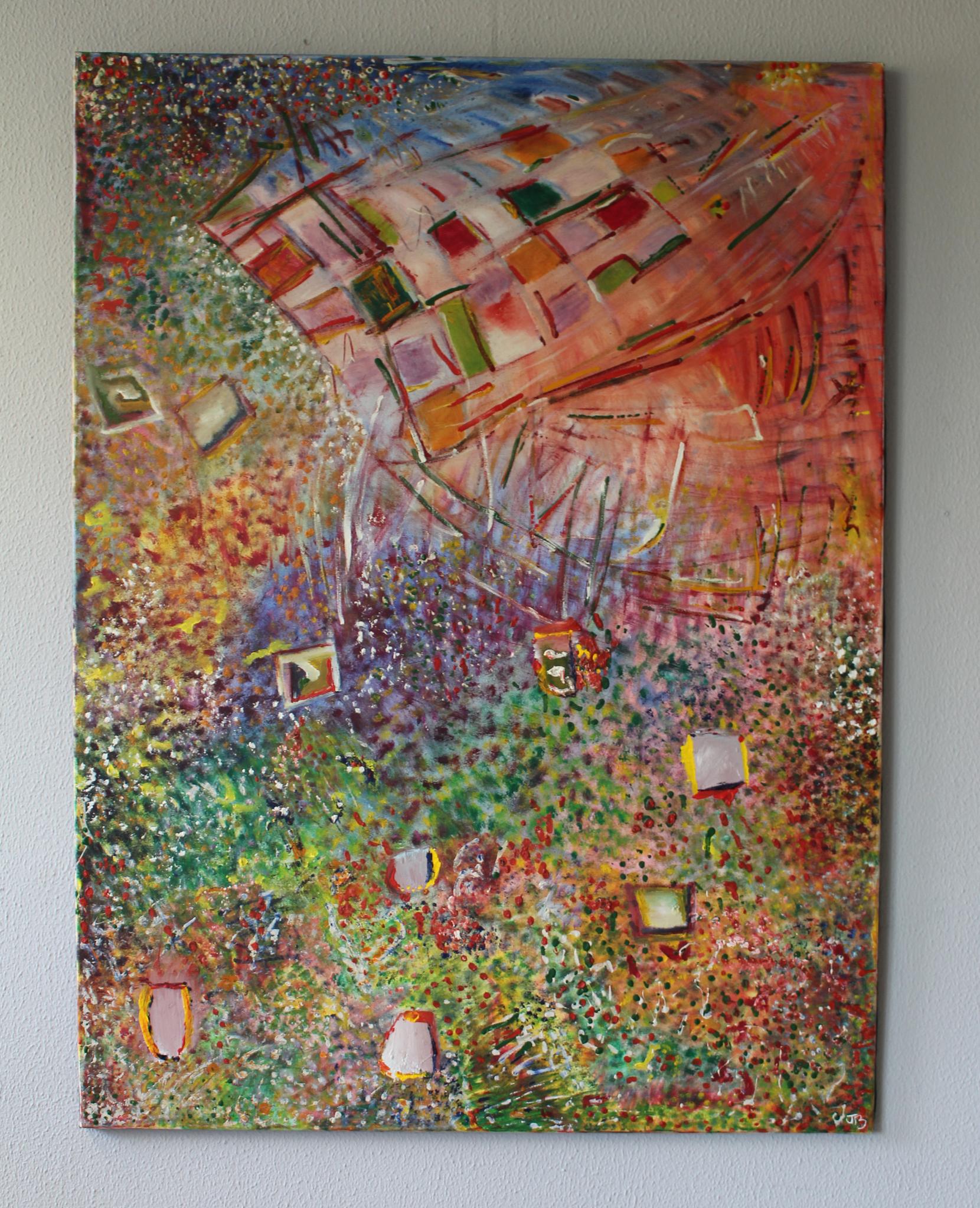 "20. ""Landscape Sky."" (120 x 90cm) Oil paint on canvas. 2006         (Price on Request/Prijs op Aanvraag)"