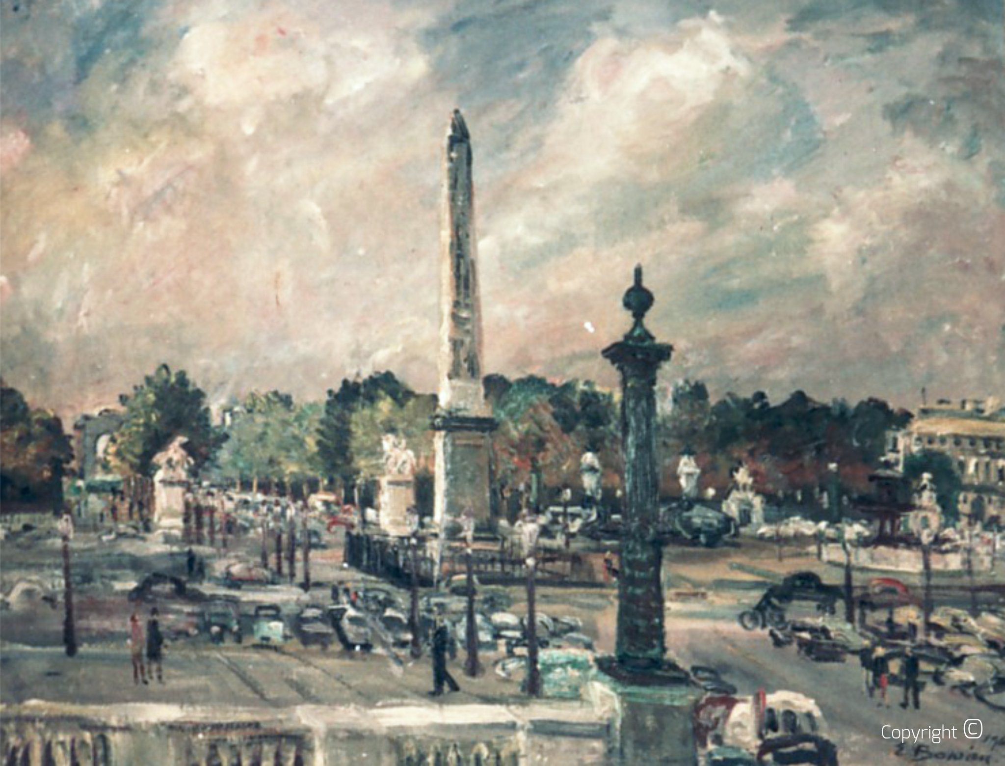 Missing - Obelisque Place de la Concorde, 1964