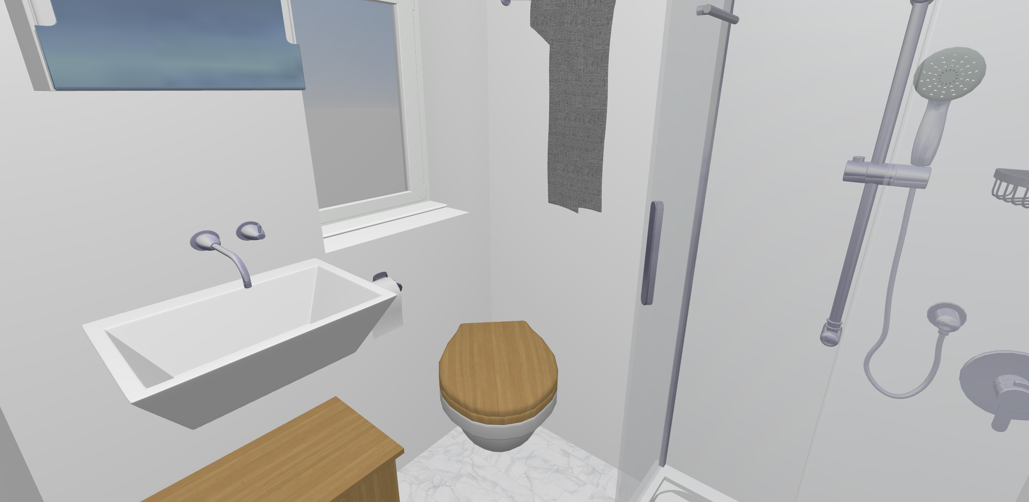 Das Badezimmer im Mini Tiny House