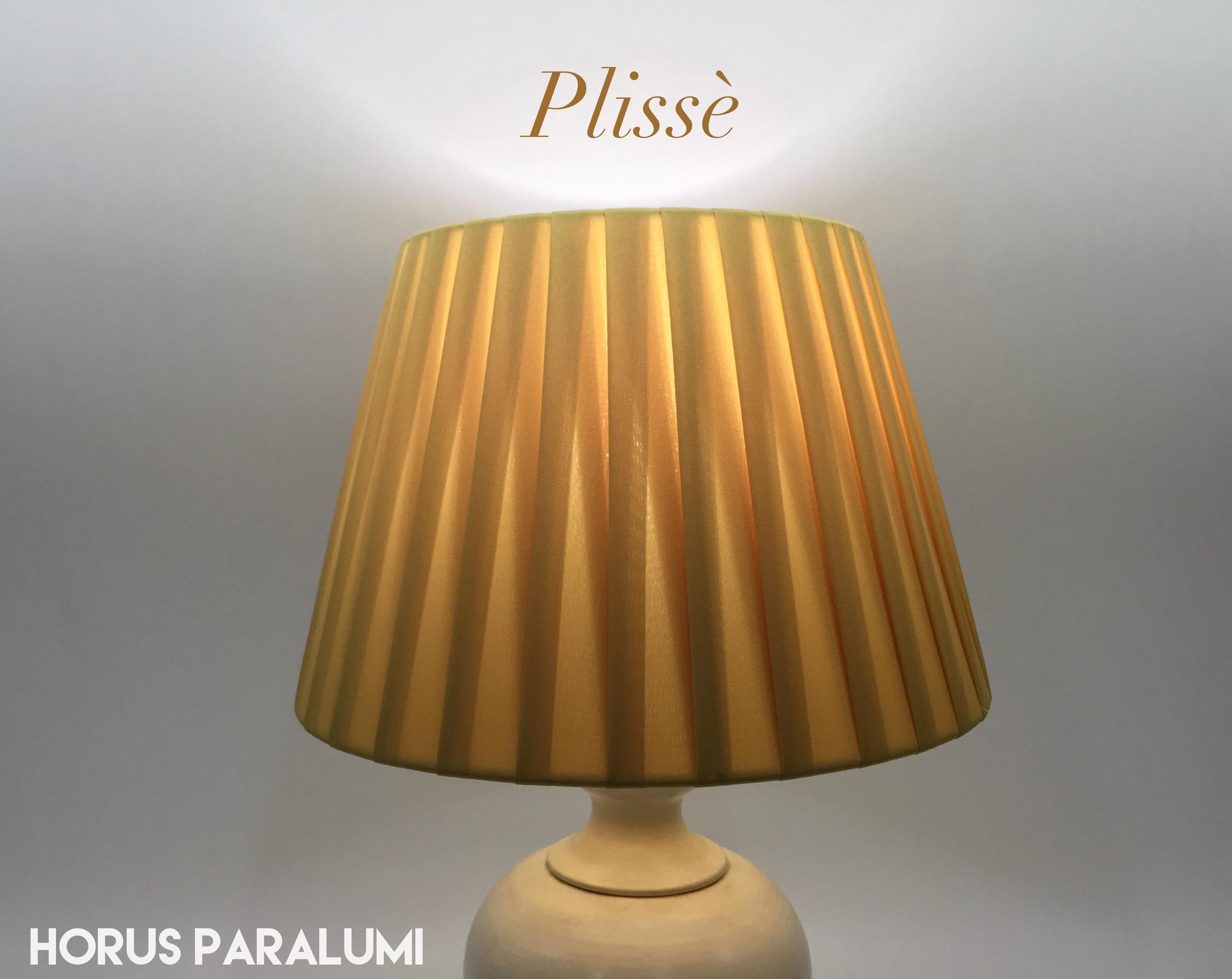 IMPERO PONGE' PLISSE' GIALLO