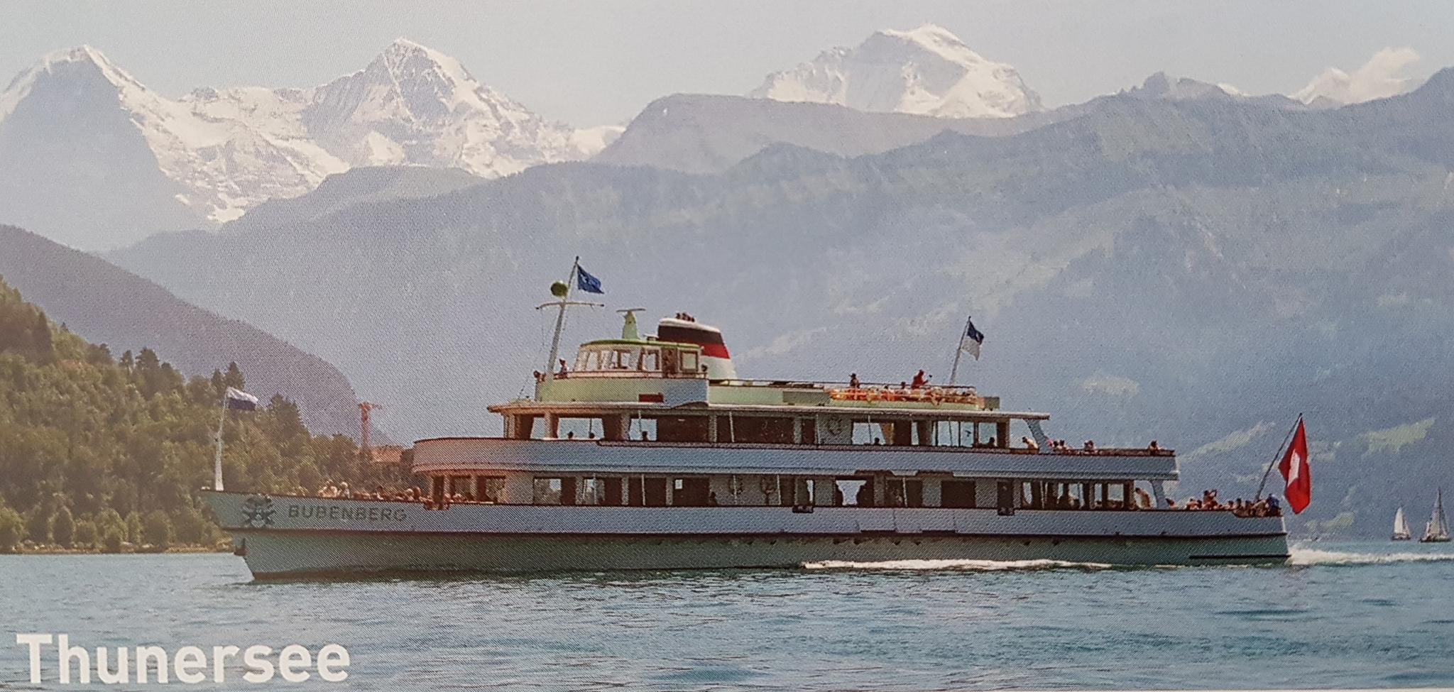 Auf dem Schiff Bubenberg