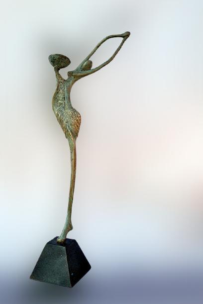 Gnoman - 59 cm x 25 cm - T.I - 2019