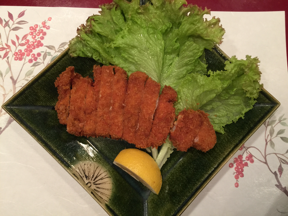 Main: Tonkatsu, Pork Cutlet