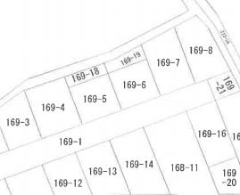 公図、地番169-6