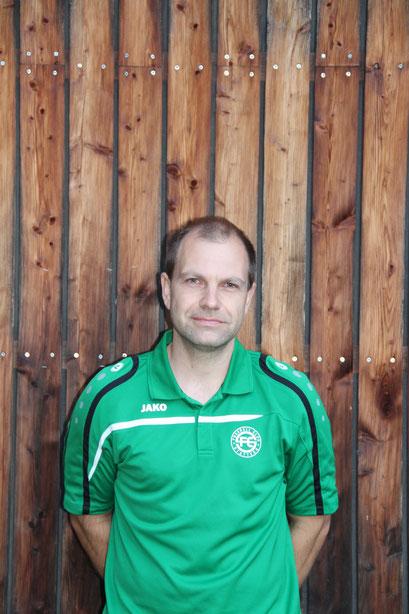 Trainer Gregor Giesser
