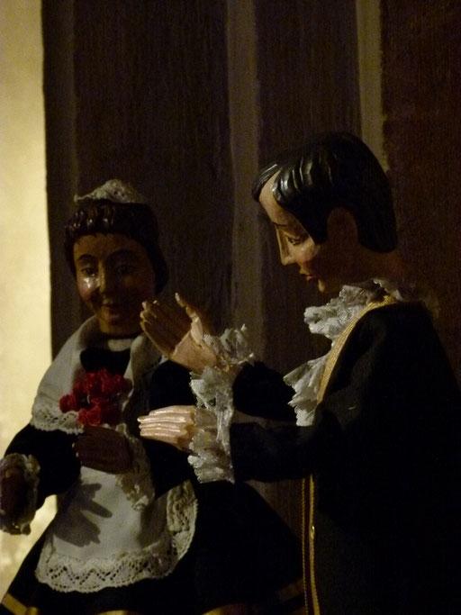 Am Gaudete-Sonntaag ist das Tanzpaar der Hilligen Knächte