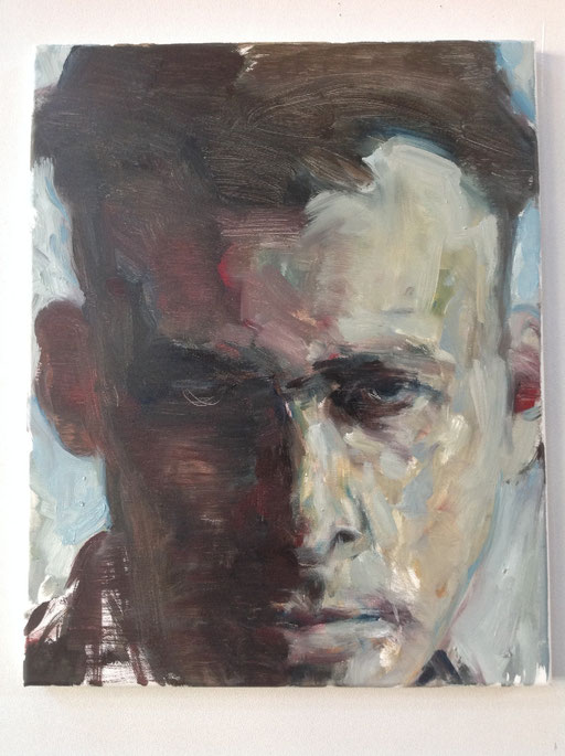 'Witold P'. , 2016 , oil on canvas , 40x50 cm
