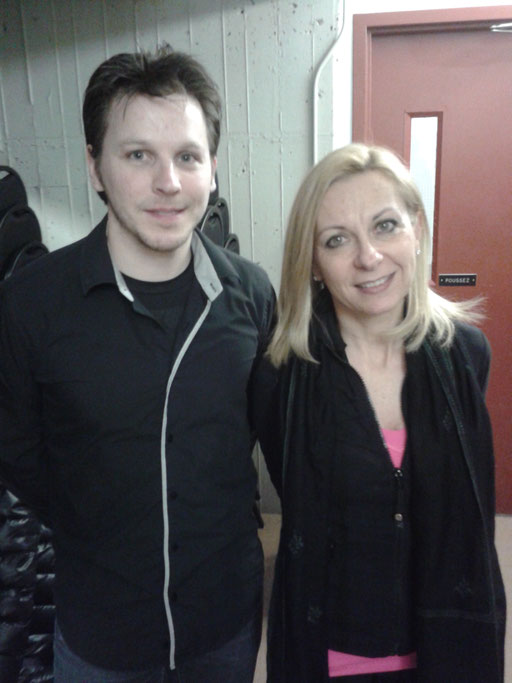 avec Nathalie Dessay