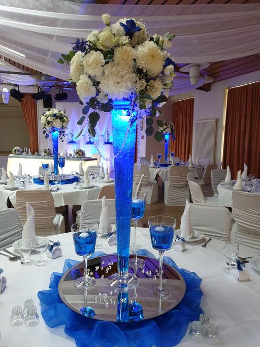 Vase LED-Beleuchtung