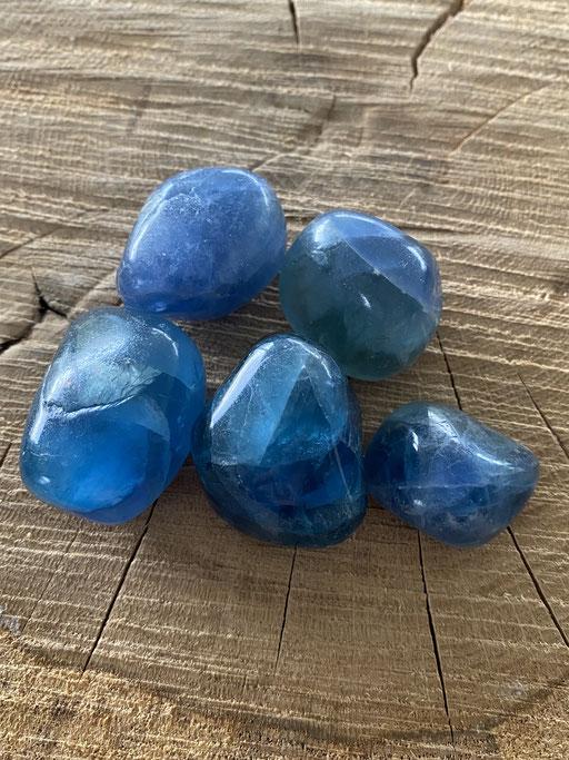 Fluorite bleue Nimalaé Lithothérapie et boutique de minéraux