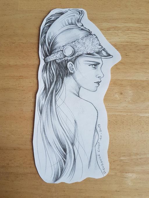 Dame Gladiateur - Tatoueuse Marquise