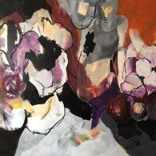 Acryl auf Leinwand, 2020, 152 x 152 cm