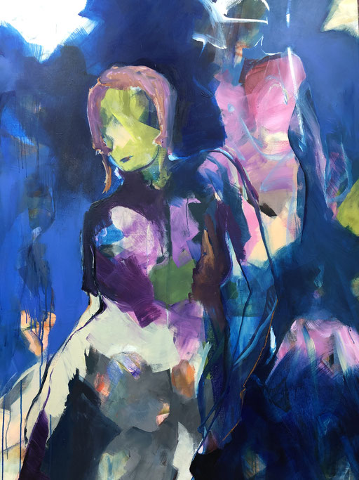 Acryl auf Leinwand, 2019, 140 x 100 cm