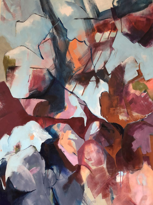 Acryl auf Leinwand, 2020, 140 x 100 cm